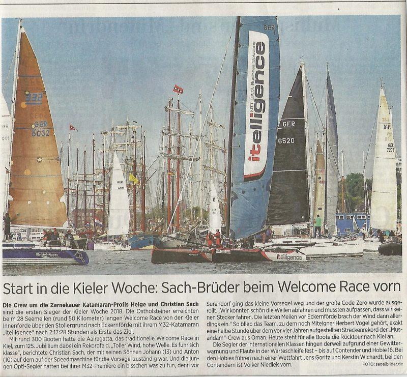 Kieler Woche Welcome Race